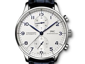 IWC ポルトギーゼ クロノグラフ SS革 IW371446