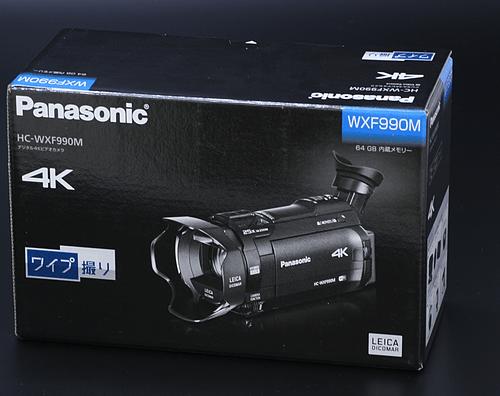 【電化製品買取実績】 パナソニック HC-WXF990M ビデオカメラ 買取