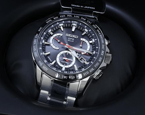 【時計買取実績】セイコー アストロン SBXB041GPSソーラー電波時計 買取