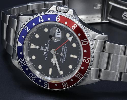 【ロレックス買取実績】ROLEX GMTマスター 16700 青赤ベゼル 買取