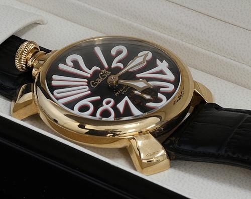 【時計買取実績】ガガミラノ マヌアーレ48 5011.12S 買取
