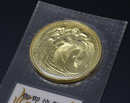 【10万円金貨買取】平成2年 天皇陛下御即位記念金貨