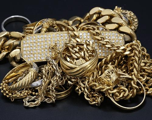 【金買取】喜平やダイヤ付きの18金、指輪、ブレス、ネックレス買取