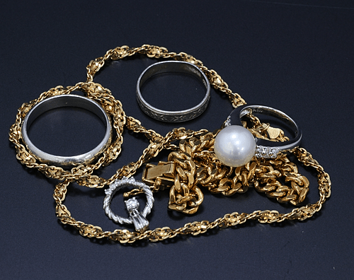 【貴金属買取実績】指輪、ブレス、ネックレスなど金プラチナ買取(筑西市)
