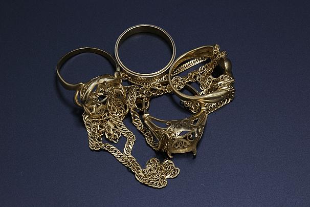 18金ネックレス、指輪