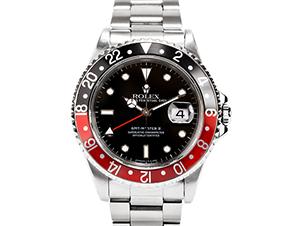 ロレックス GMTマスター2 赤黒 16710