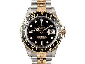 ロレックス GMTマスター2 黒 16713