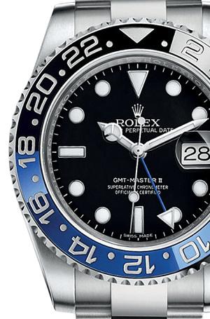 ロレックス買取例(116710BLNR GMTマスター青黒)